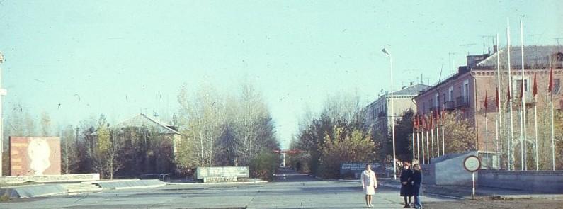 Развивался Городок...Ноябрь1978