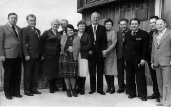 Днепропетровск, 199? год. Встреча ветеранов