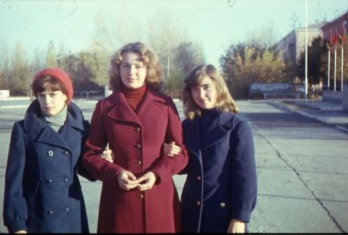 1978. Вырастали его дети. Чаганскик красавицы - Лена Зинченко, Лена Русина, Ира Смирнова