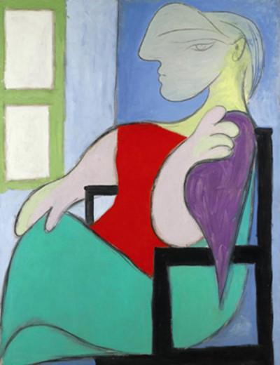 Пабло Пикассо. Женщина, сидящая у окна. 1932 год