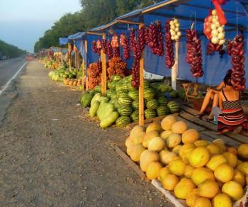 Озаряя нам путь бесконечность...:) Придорожные базары...