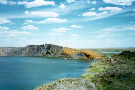 Самое радиоактивное озеро планеты