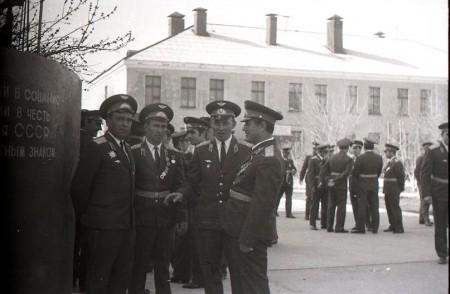 Как-то после парада... Май 1976