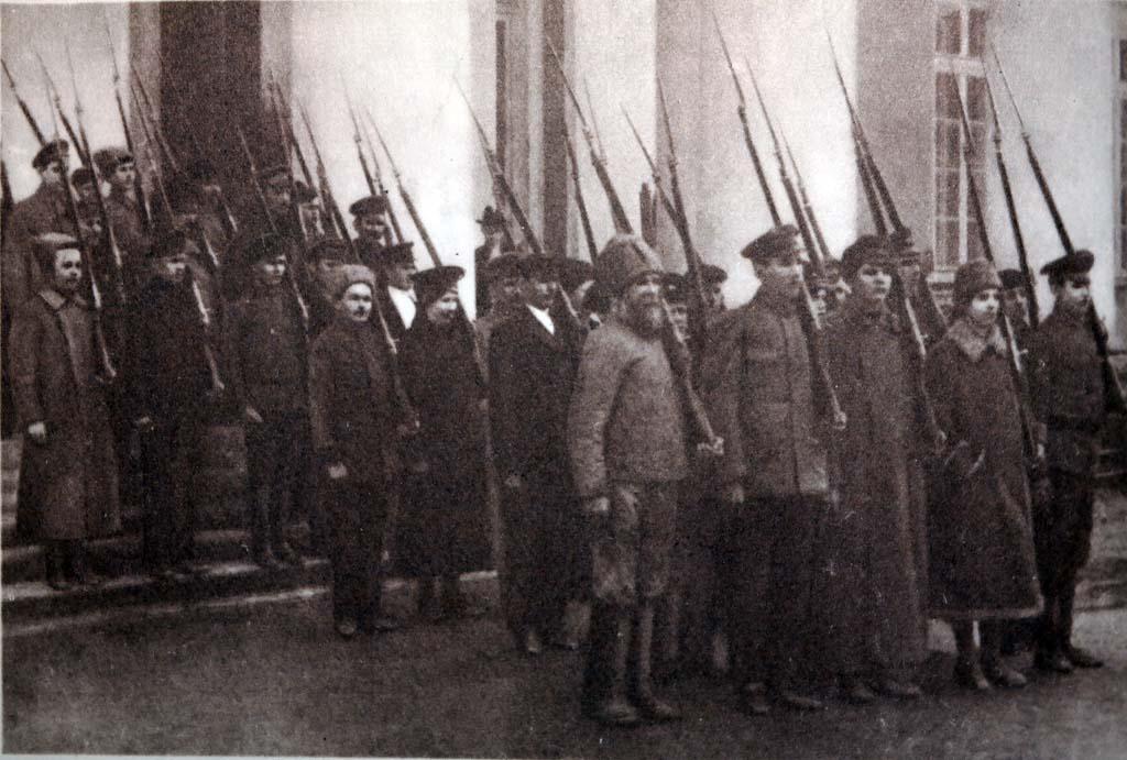 На защиту Петрограда 21 февраля 1918
