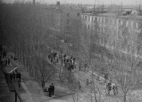 После парада фото из архива И. Смирновой(Потехиной)